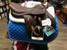 Brand New Pessoa Xch Saddle 17in Med Tree Stirrups & Leathers Included