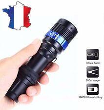 Lampe torche Focus 3000 LM Zoom CREE XM-L Q5 LED