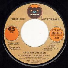 JESSE WINCHESTER NOTHING BUT A BREEZE / SAME  BEARSVILLE O38 PROMO
