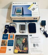Hp iPaq Pocket Pc Pda Computer H2215 Mp3 Bluetooth Microsoft Os with Accessories