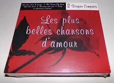 Les Plus Belles Chansons D'amour 2 CD Set - Brand New