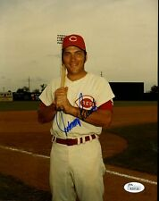 JOHNNY BENCH JSA SIGNED 8X10 PHOTO AUTHENTIC AUTOGRAPH