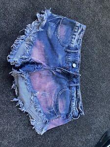 Ladies Billabong Denim Shorts