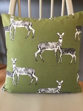 """16"""" CUSHION COVER IN PRESTIGIOUS """"DEER"""" FABRIC - HAND CRAFTED"""