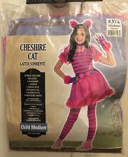 Amscan Cheshire Cat Dress Costume Girls Youth Sz Medium