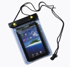"Blue 7"" Waterproof Case Bag for Kindle Xoom Playbook HTC Flyer & Other Tablets"