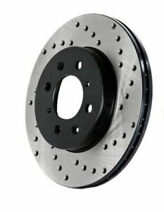 StopTech Drilled Sportstop Brake Rotor, Rear Left (128.39036L)