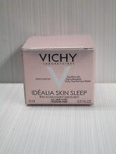 Vichy Idealia Skin Sleep Recovery Night Gel-Balm All Skin Types 0.51 Oz Boxed