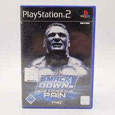 Smackdown Here comes the Pain Sony Playstation 2 PS2 PAL Spiel Game Wrestling