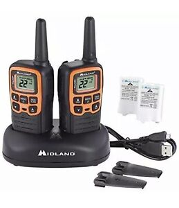 Midland ~ X-TALKER T51VP3, 22 Channel FRS Two-Way Radio - Extended Range Walkie!