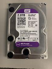Western Digital Purple 2TB,Internal,5400 RPM,3.5 inch (WD20PURX) Hard Disk Drive