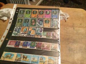 Jordan Used Stamps Lot