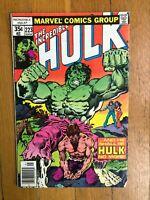 The Incredible Hulk #223 Marvel Comics (May, 1978) 4.0 VG