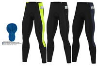 Mens Cycling Thermal Tights pant Winter Cold Wear Padded Legging Cycling Trouser