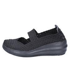 scarpe donna CRISTIN 41 EU ballerine nero tessuto BX631-41