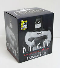 SDCC 2015 Comic Con Batman Animated B&W Limited Edition Statue Bust Figure NIB