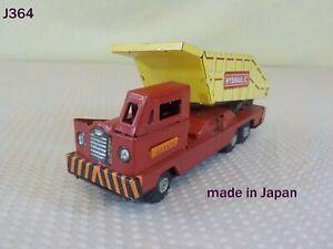 Vintage 1950'S JAPAN Friction Giants Dump Truck Toy