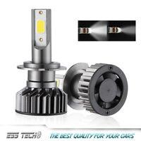 Kit ampoule LED H7 Blanc 6000K Canbus 12-24 Volts ESS TECH® COB anti erreur OBD