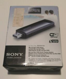 Adattatore LAN wireless USB ORIGINAL SONY UWA-BR100 internet adapter OVP NEW