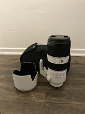 New listing Sony G-Series 70-200mm F/2.8 Gm Oss Fe Universal Camera Lens Mint Condition