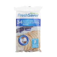 FoodSaver Vacuum Zipper Quart Bags, 34 Count FSFRBZ0226-027