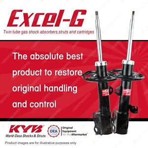 2 x Front KYB Excel-G Strut Shock Absorbers for Toyota Corolla ZRE172R 1.8 Sedan