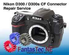 REPAIR SERVICE For NIKON D300 / D300s Camera CF Pin Repair
