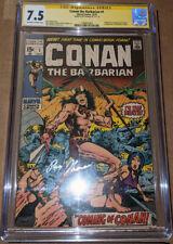 Conan the Barbarian #1 CGC 7.5 Signed by Roy Thomas - 1st app Conan 1st cam Kull