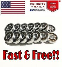 LOT 5x FIDGET BEARINGS - FASTER THAN CERAMIC - hand spinner tri 8mmx22mmx7 608