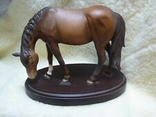 BESWICK HORSE  BROWN MATT FINISH AND excellent CONDITION. rare item