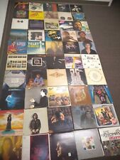 Lot Of 50 Classic Rock Folk Pop Soft Rock vinyl record albums