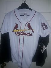 Albert Pujols St. Louis Cardinals baseball Jersey NEW SL Sewn & Printed Youth XL