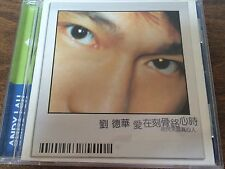 Rare Hong Kong Andy Lau CD