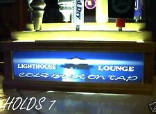 (REMOTE CONTROL) LIGHTHOUSE LOUNGE 7 BEER tap handle display