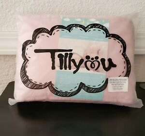 TILLYOU 3pk Padded Baby Crib Rail Cover Protector Set