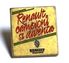 Pin Spilla Renault Campioni Si Diventa