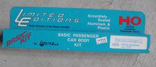 Vintage HO Scale Limited Editions 7375 Metal Chair Baggage Car Body Kit NIB