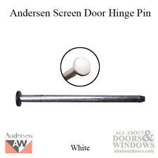 Andersen Hinge Pin, Screen Door - White