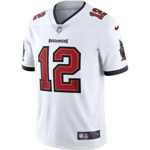 NFL Tom Brady Tampa Bay Buccaneers Vapor Limited NIKE Jersey - WHITE NWT