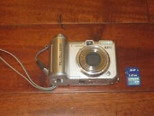 Canon PowerShot A630 8.0MP Digital Camera - Silver WORKS