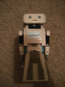 Brian The Robot From Confused.com. Unboxed. Talking. has some battery life left