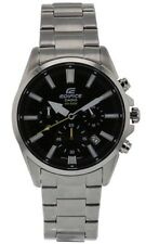 Casio Edifice EFV-510D-1AVUEF mens stainless steel silver watch NEW IN GIFT BOX