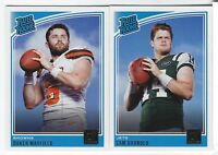 2018 Panini Donruss Football RATED ROOKIES RC Complete Your Set YOU PICK!