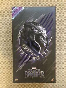 """Hot Toys MMS470 Black Panther 1/6 Scale Marvel 12"""" Figure"""