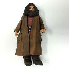 """Harry Potter Rubeus Hagrid 9"""" Deluxe Action Figure Mattel 2001 Warner Bros"""