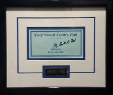President Country Club Card Signed by GERALD FORD