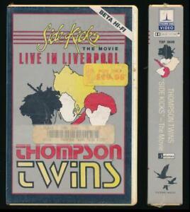 Thorn EMI Betamax NOT VHS Thompson Twins Side Kicks The Movie 1983 New Wave Punk