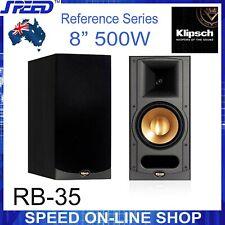 Klipsch RB-35 Reference 8'' Two-Way Bookshelf Loudspeakers (pair) - Black Ash