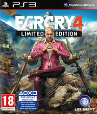 Far CRY 4 LIMITED EDITION PS3 * NUOVO SIGILLATO PAL *