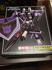 Transformers Masterpiece MP-11SW Skywarp con moneda Takara Nuevo en el Reino Unido